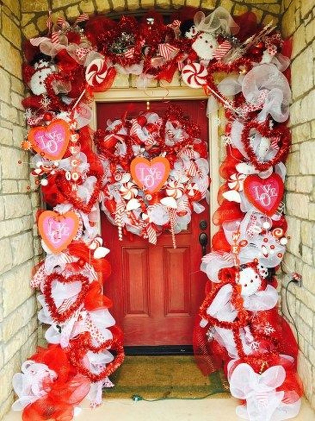 The Best Valentine Door Decorations 20