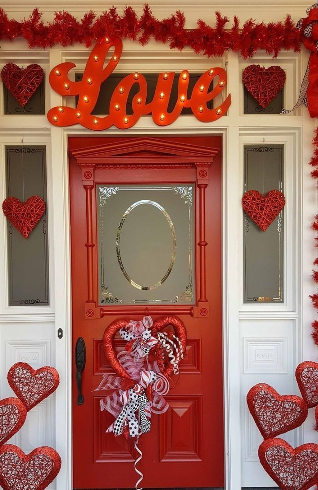 The Best Valentine Door Decorations 30