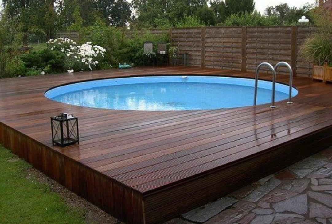 Amazing Ground Pool Landscaping That You Should Copy 03