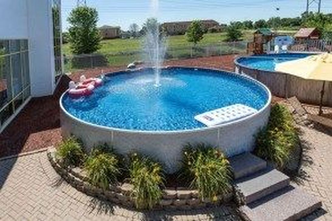 Amazing Ground Pool Landscaping That You Should Copy 21