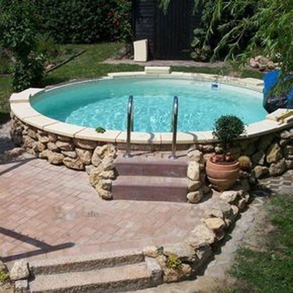 Amazing Ground Pool Landscaping That You Should Copy 22