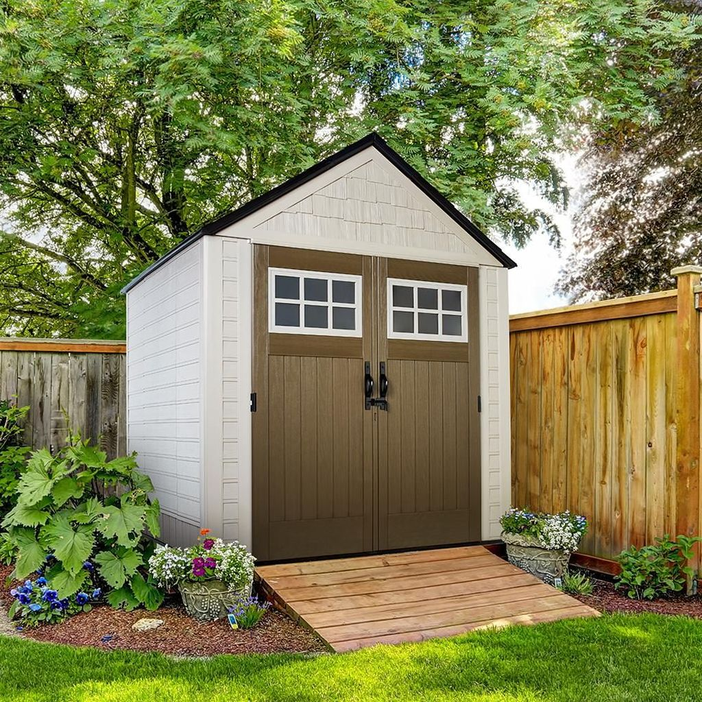Beautiful Backyard Shed Landscaping Ideas 08