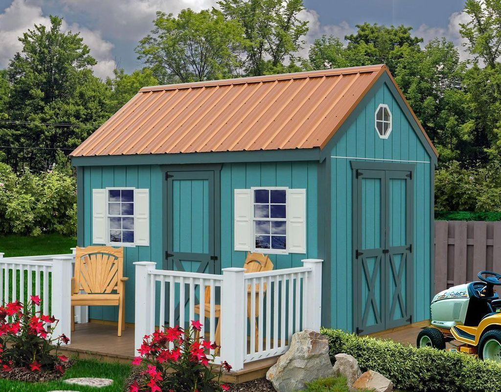Beautiful Backyard Shed Landscaping Ideas 31