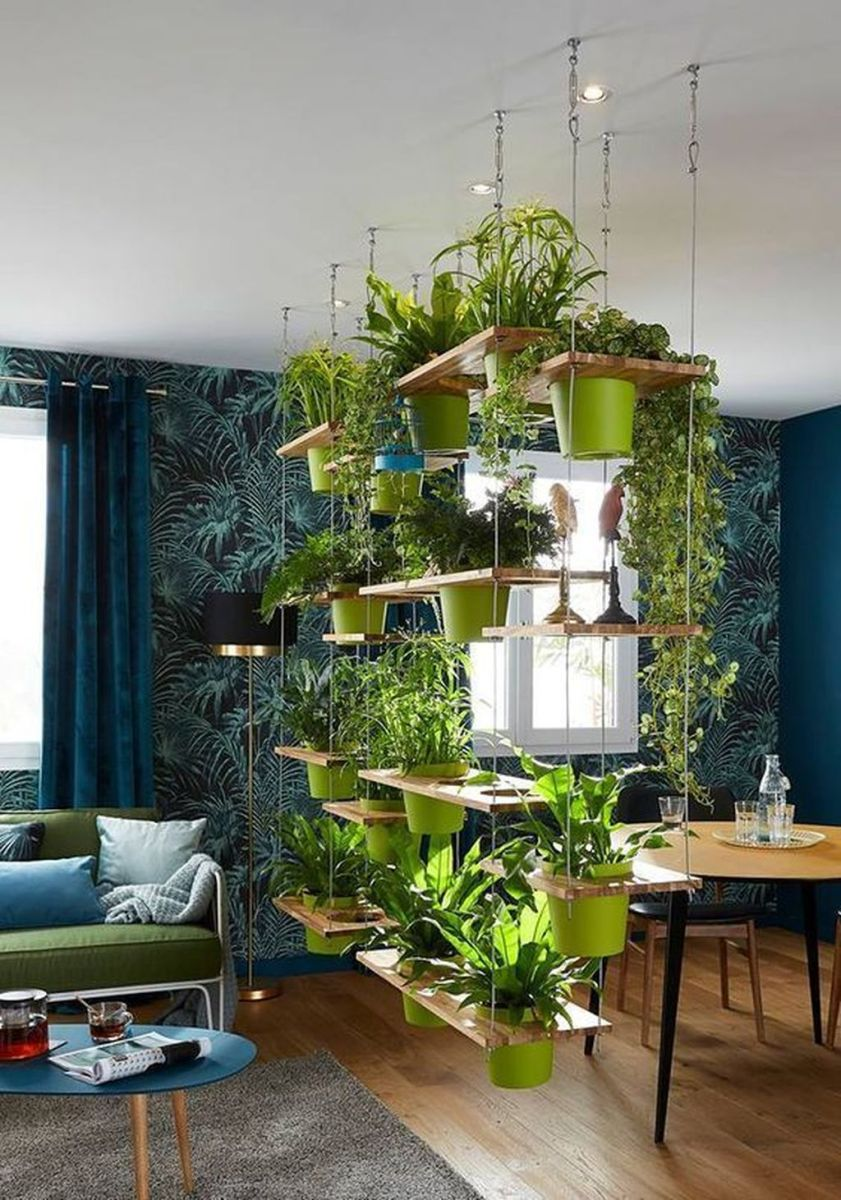 Beautiful Living Wall Indoor Decoration Ideas To Be A Fresh Home 02