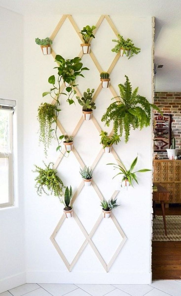 Beautiful Living Wall Indoor Decoration Ideas To Be A Fresh Home 10