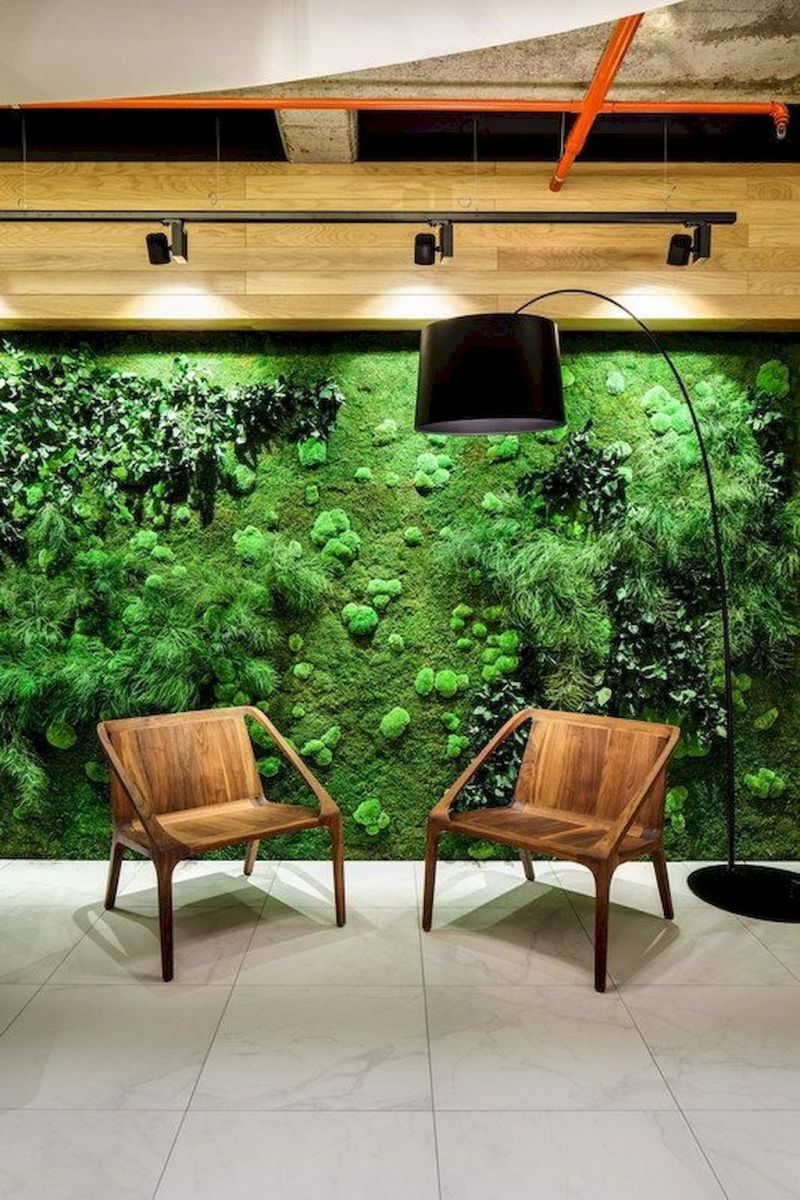 Beautiful Living Wall Indoor Decoration Ideas To Be A Fresh Home 15