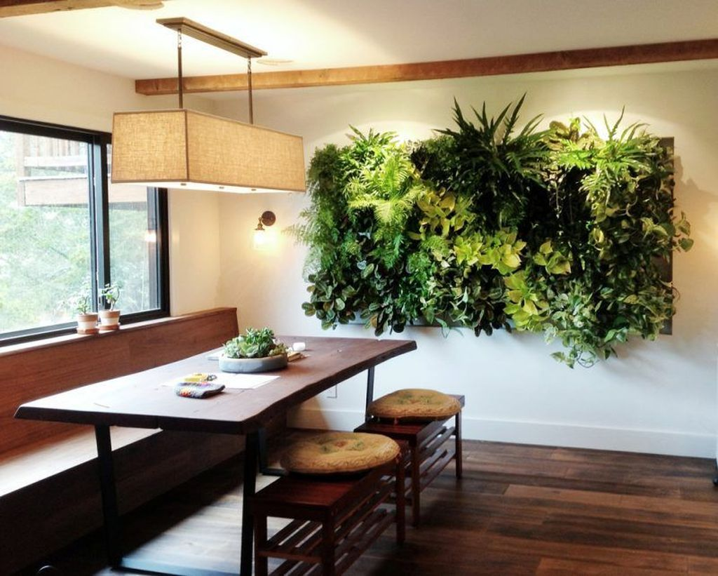 Beautiful Living Wall Indoor Decoration Ideas To Be A Fresh Home 19