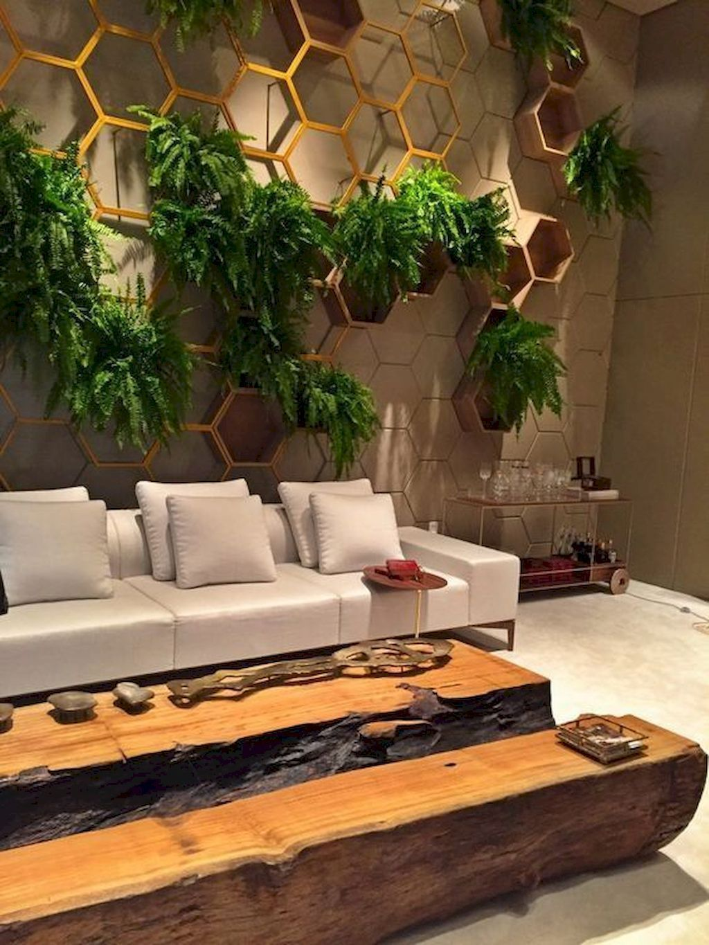 Beautiful Living Wall Indoor Decoration Ideas To Be A Fresh Home 27