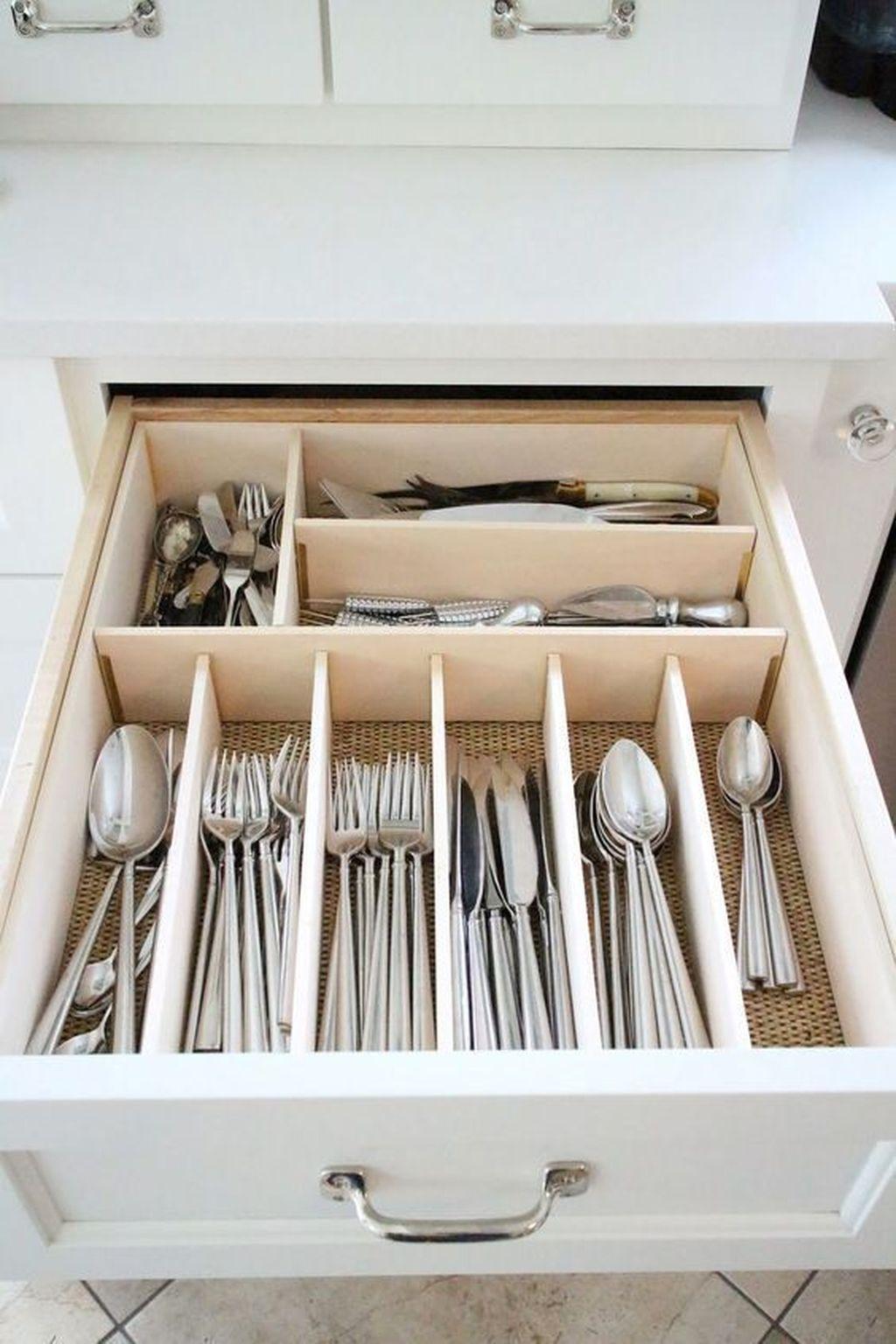 Best Design Ideas For Kitchen Organization Cabinets 15