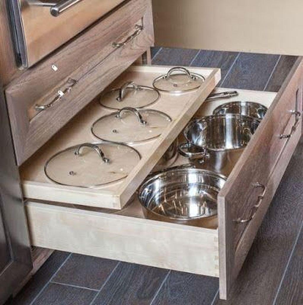 Best Design Ideas For Kitchen Organization Cabinets 21