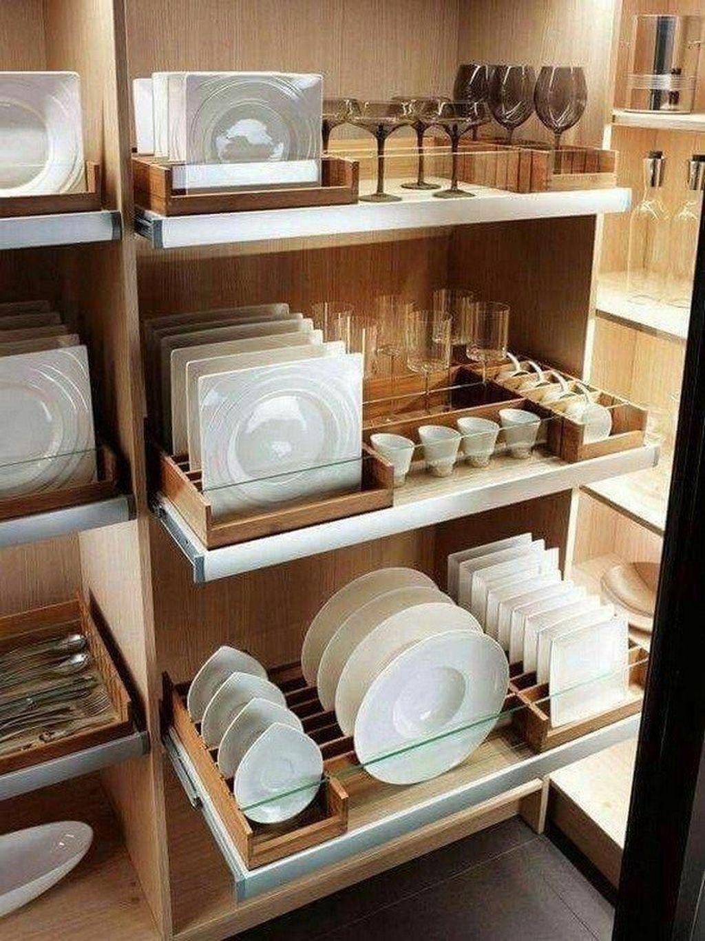 Best Design Ideas For Kitchen Organization Cabinets 27