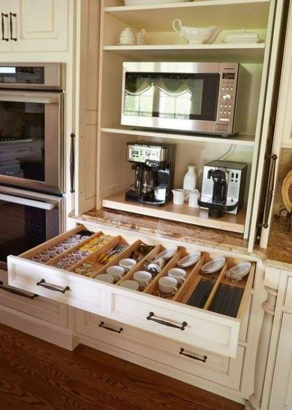 Best Design Ideas For Kitchen Organization Cabinets 29