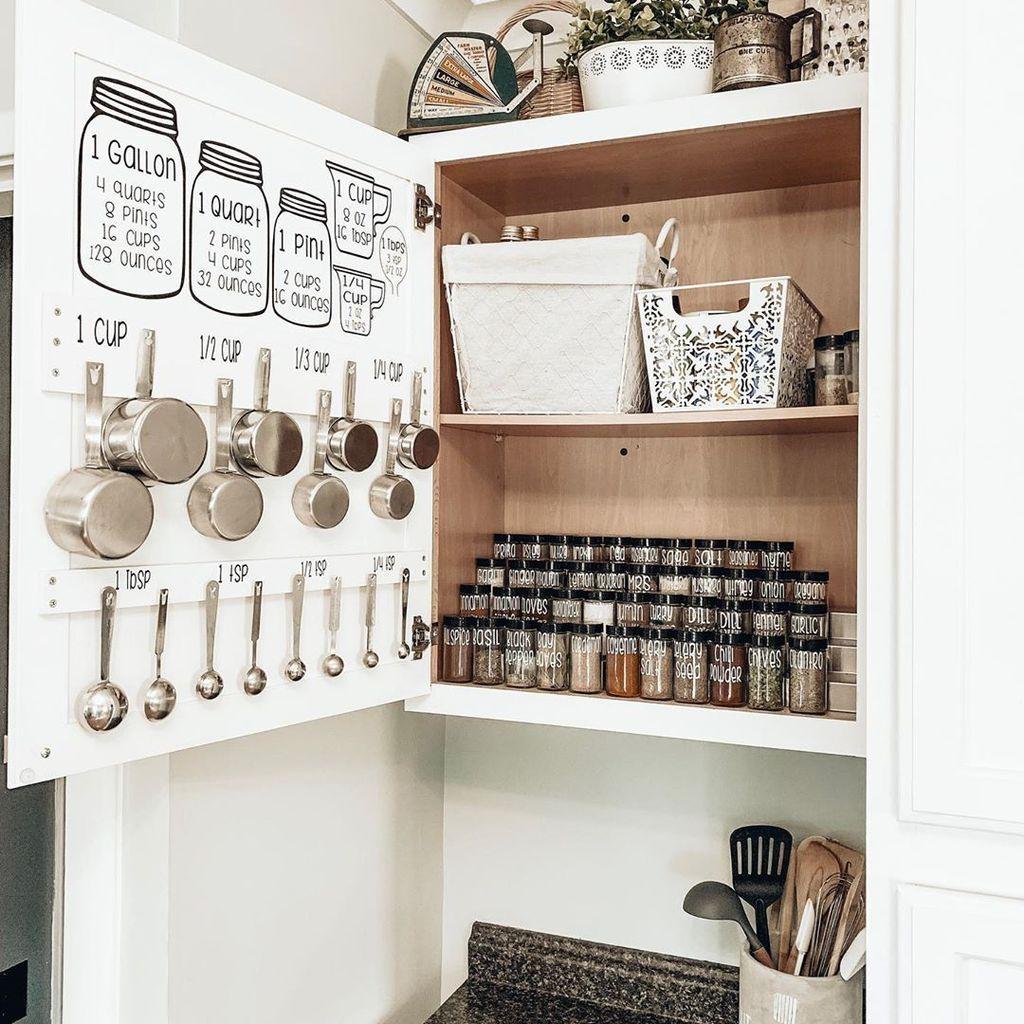 Best Design Ideas For Kitchen Organization Cabinets 32