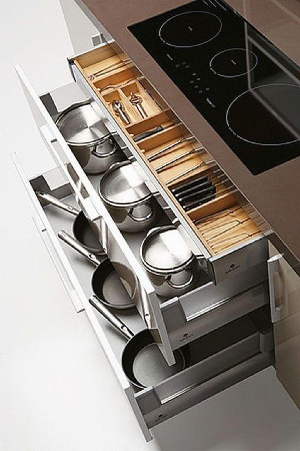 Best Design Ideas For Kitchen Organization Cabinets 33
