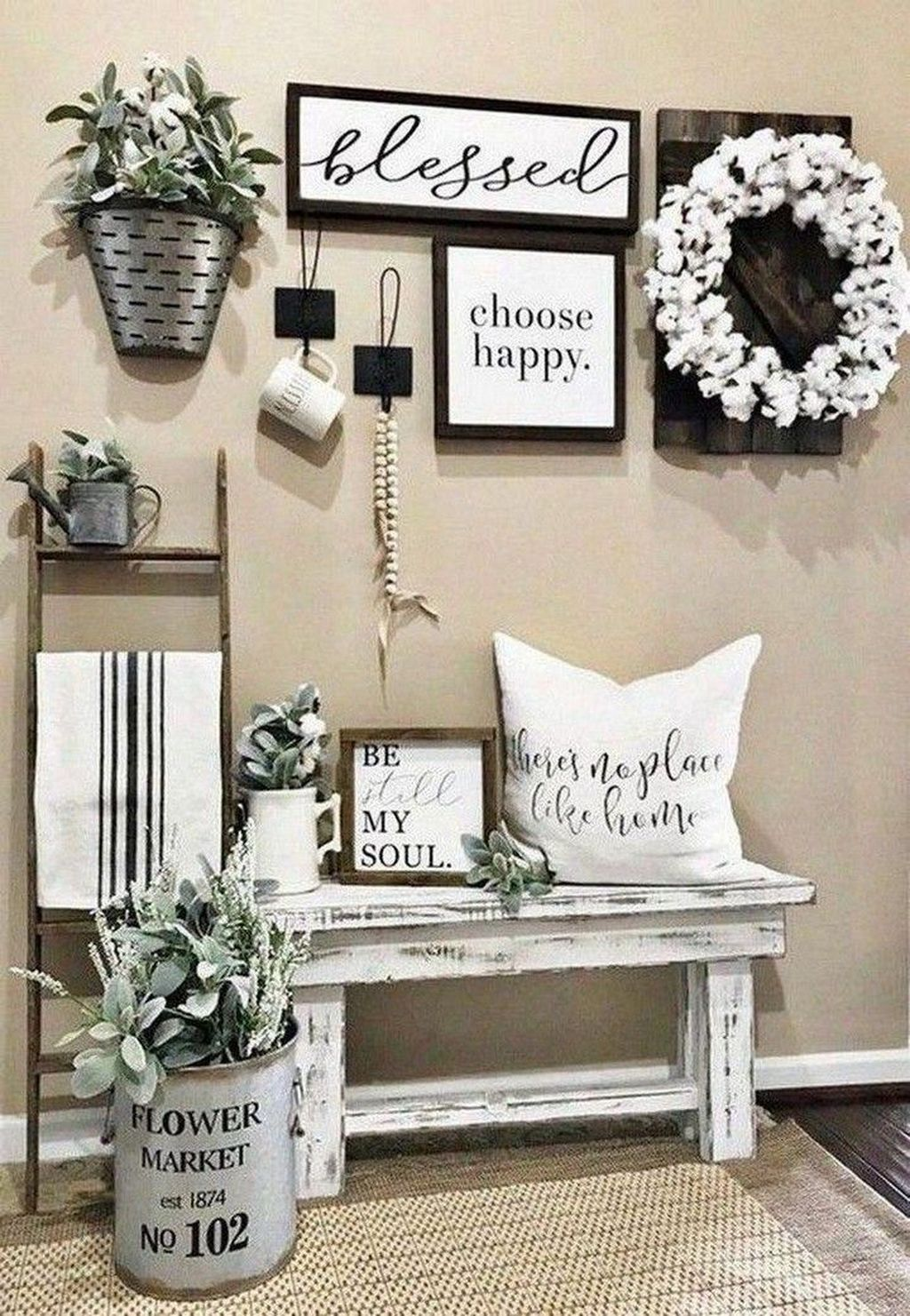 Gorgeous Farmhouse Style Decorating Ideas To Beautify Your Interior 11
