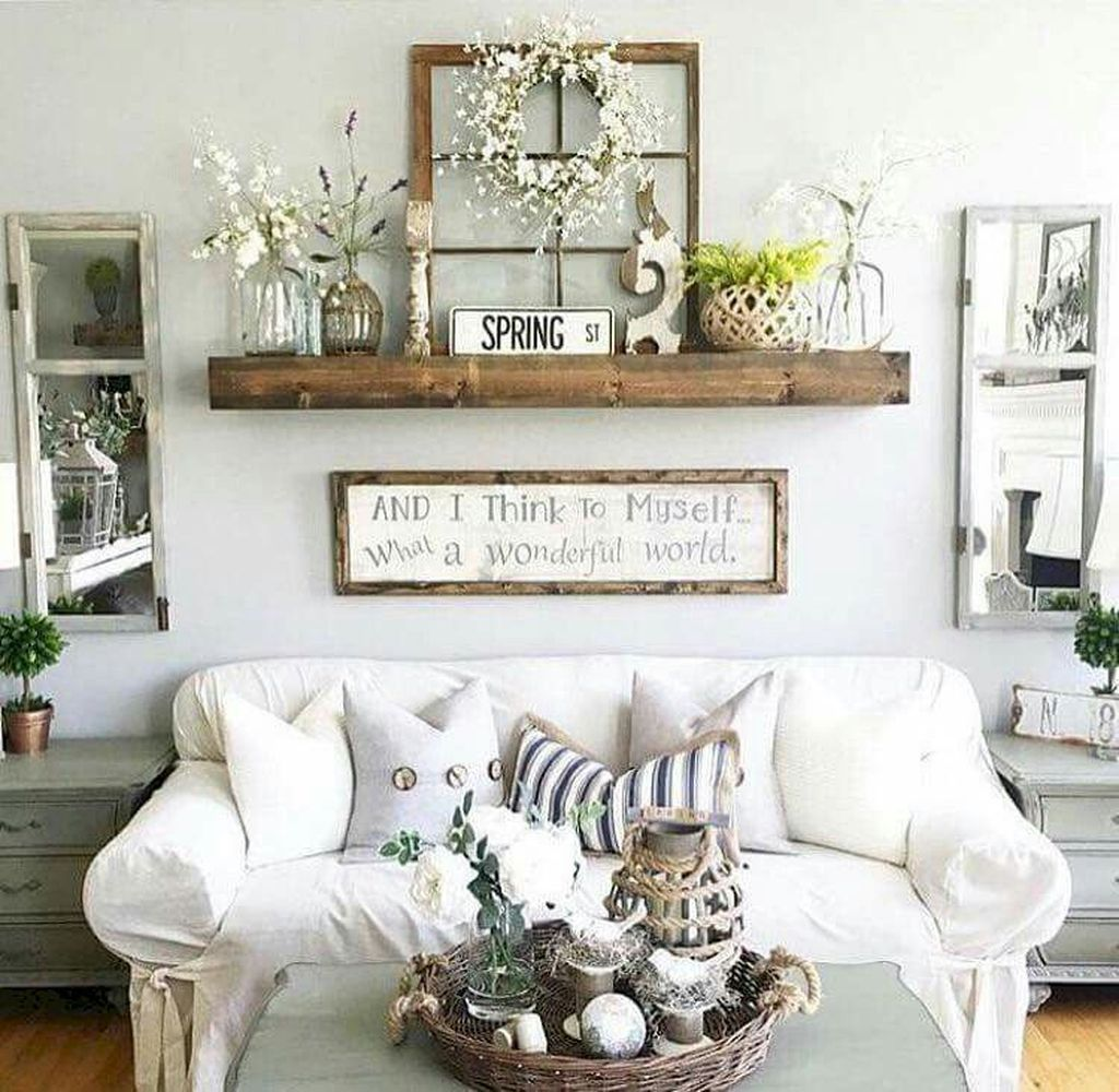 Gorgeous Farmhouse Style Decorating Ideas To Beautify Your Interior 17
