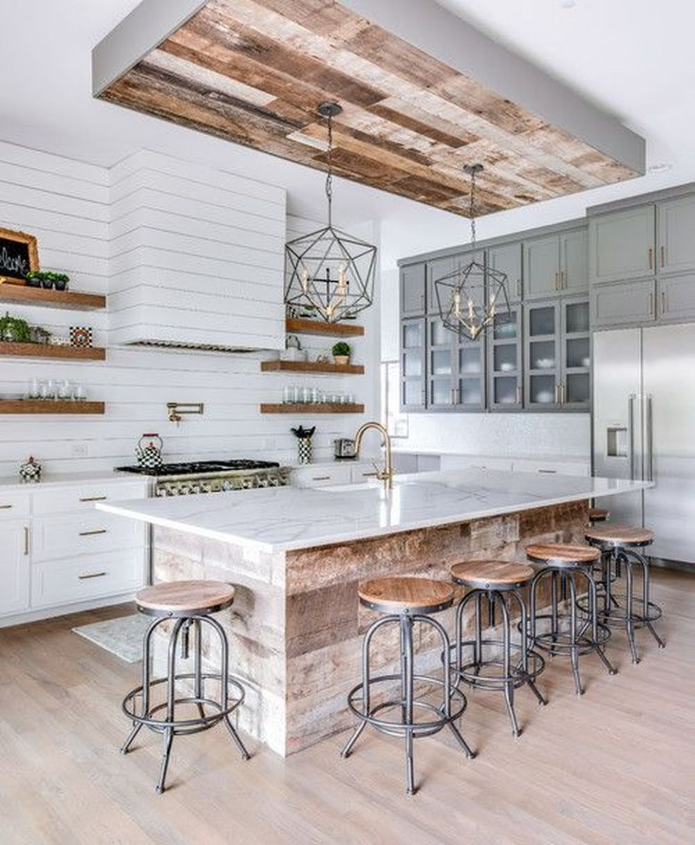 Great Ideas For Modern Farmhouse Kitchen Decorations 01