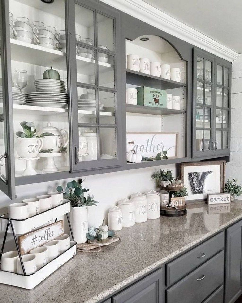 Great Ideas For Modern Farmhouse Kitchen Decorations 02
