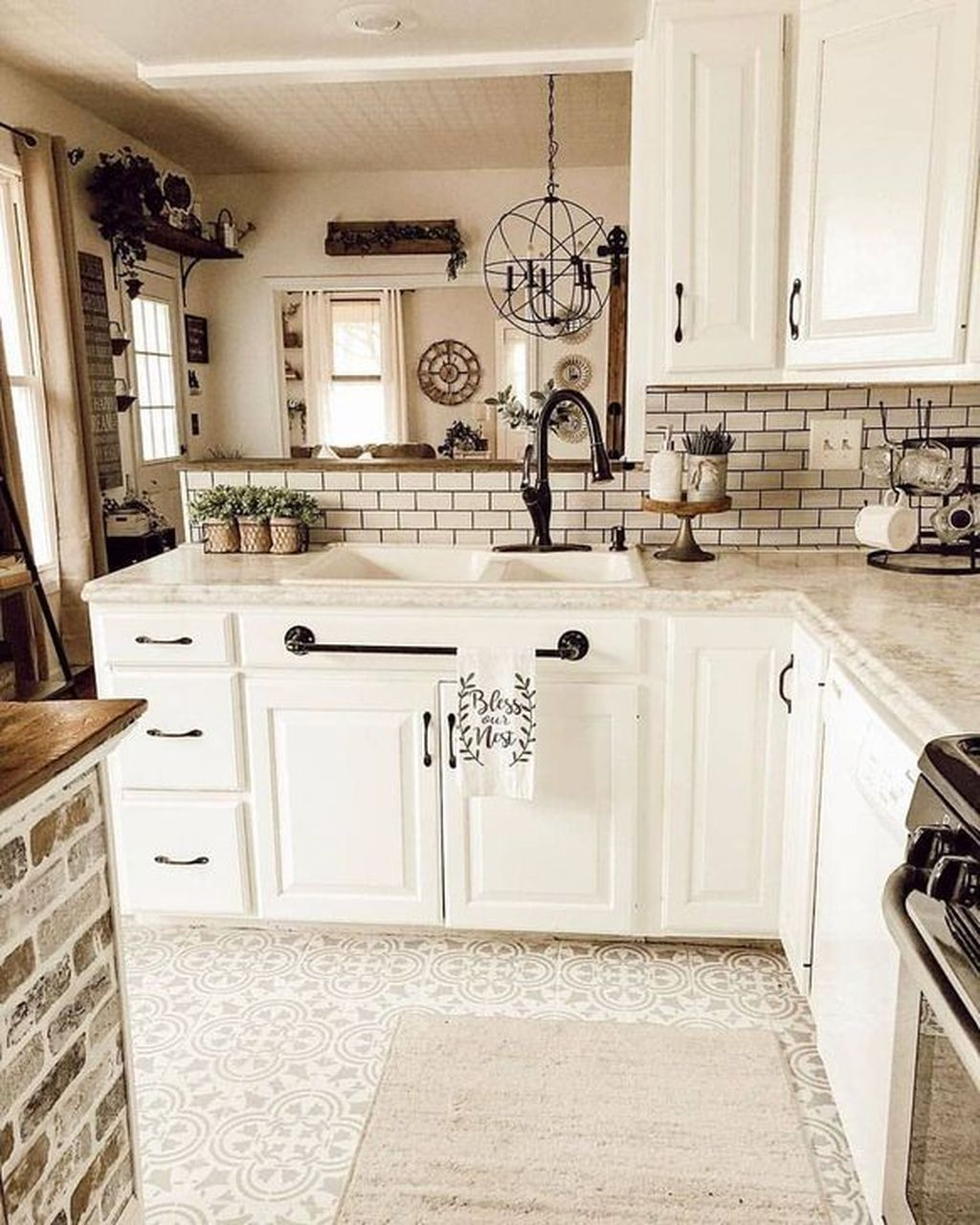 Great Ideas For Modern Farmhouse Kitchen Decorations 30