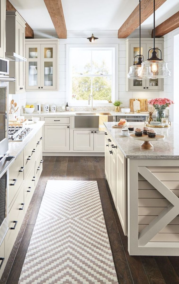 Great Ideas For Modern Farmhouse Kitchen Decorations 34