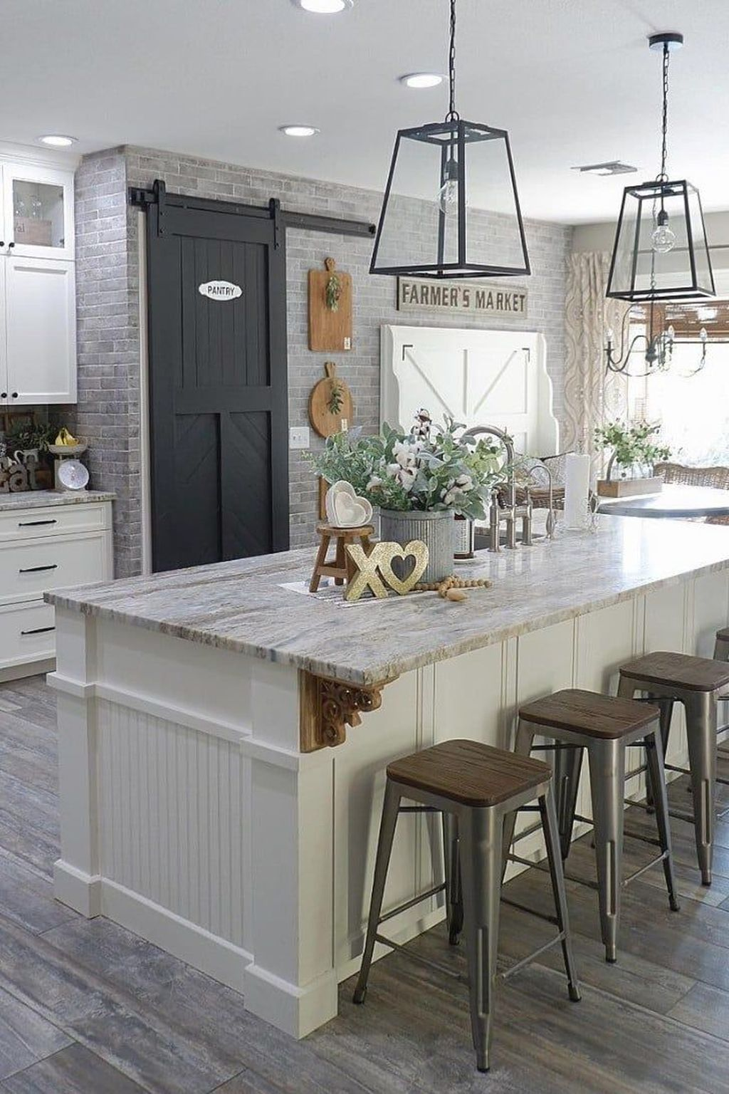 Great Ideas For Modern Farmhouse Kitchen Decorations 38
