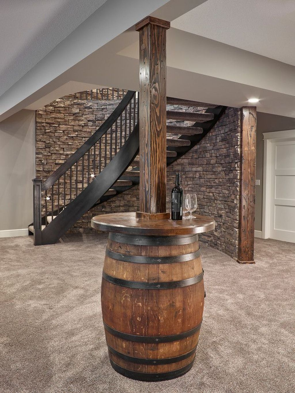 Stunning Basement Remodel Ideas Be A Beautiful Living Space 06