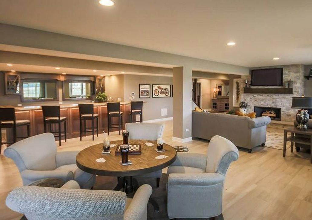 Stunning Basement Remodel Ideas Be A Beautiful Living Space 15