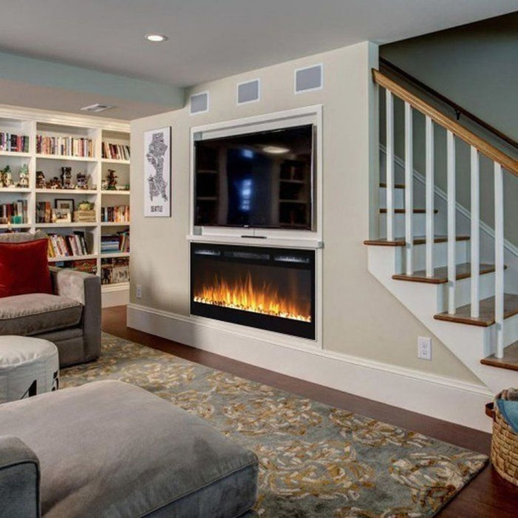 Stunning Basement Remodel Ideas Be A Beautiful Living Space 26