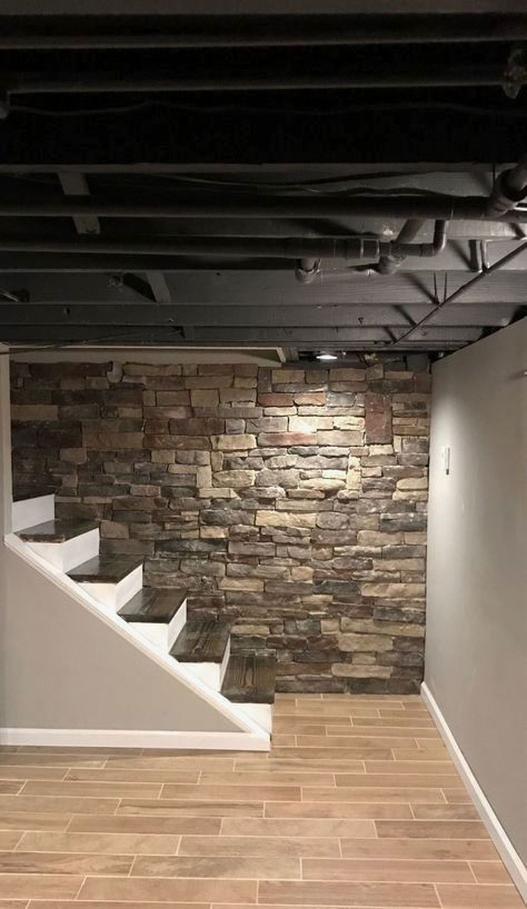 Stunning Basement Remodel Ideas Be A Beautiful Living Space 28
