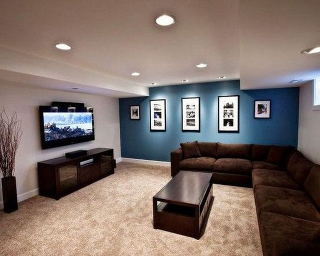 Stunning Basement Remodel Ideas Be A Beautiful Living Space 29