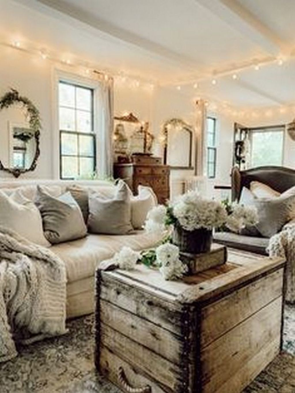 The Best Ideas To Decorate Interior Design With Farmhouse Style 07