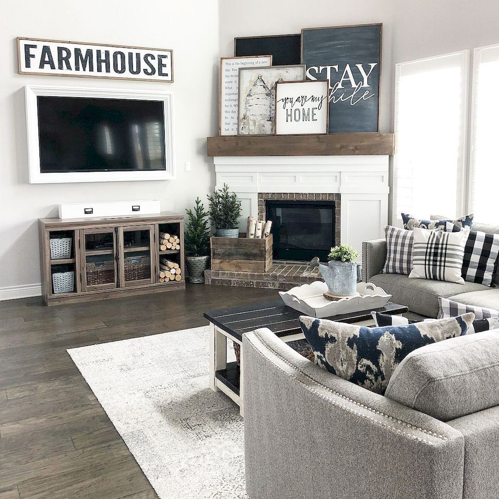 The Best Ideas To Decorate Interior Design With Farmhouse Style 37