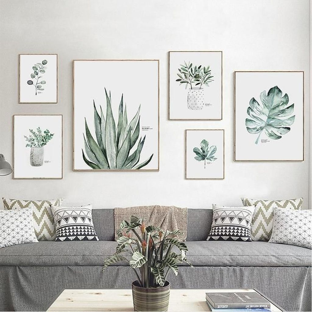 Amazing Living Room Wall Decor Ideas That You Should Copy 16