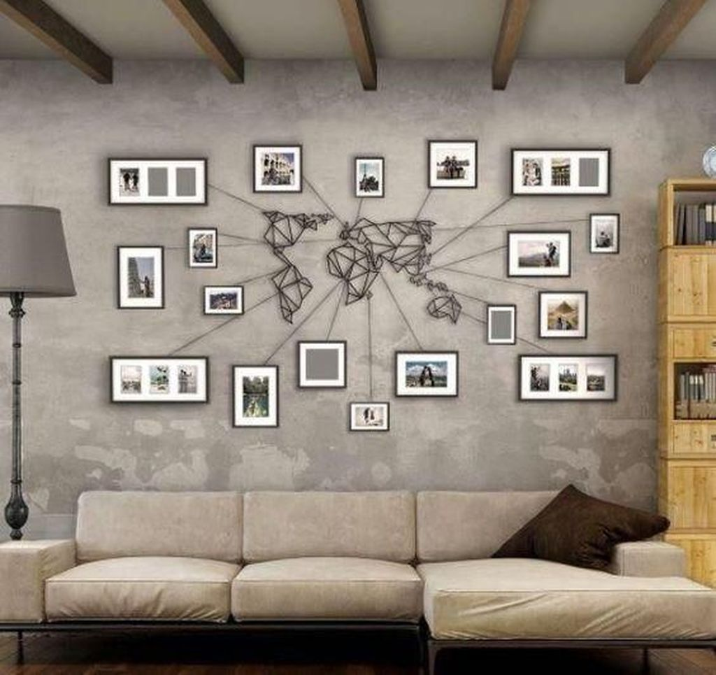 Amazing Living Room Wall Decor Ideas That You Should Copy 23