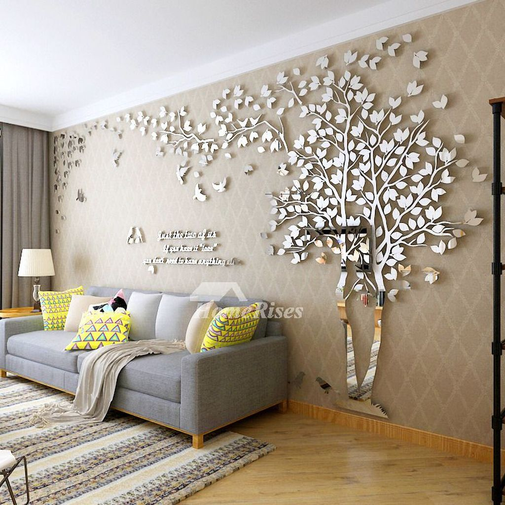 Amazing Living Room Wall Decor Ideas That You Should Copy 32