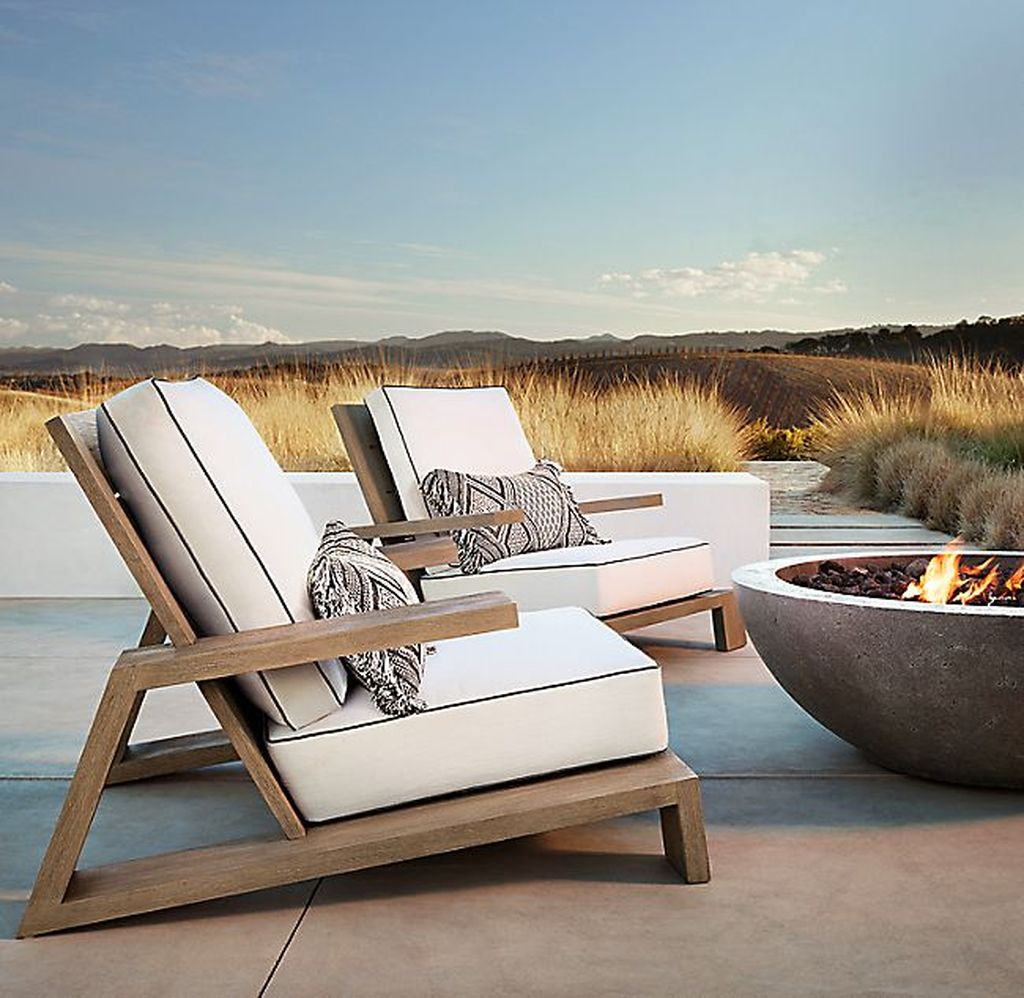 Gorgeous Outdoor Chairs Design Ideas 25