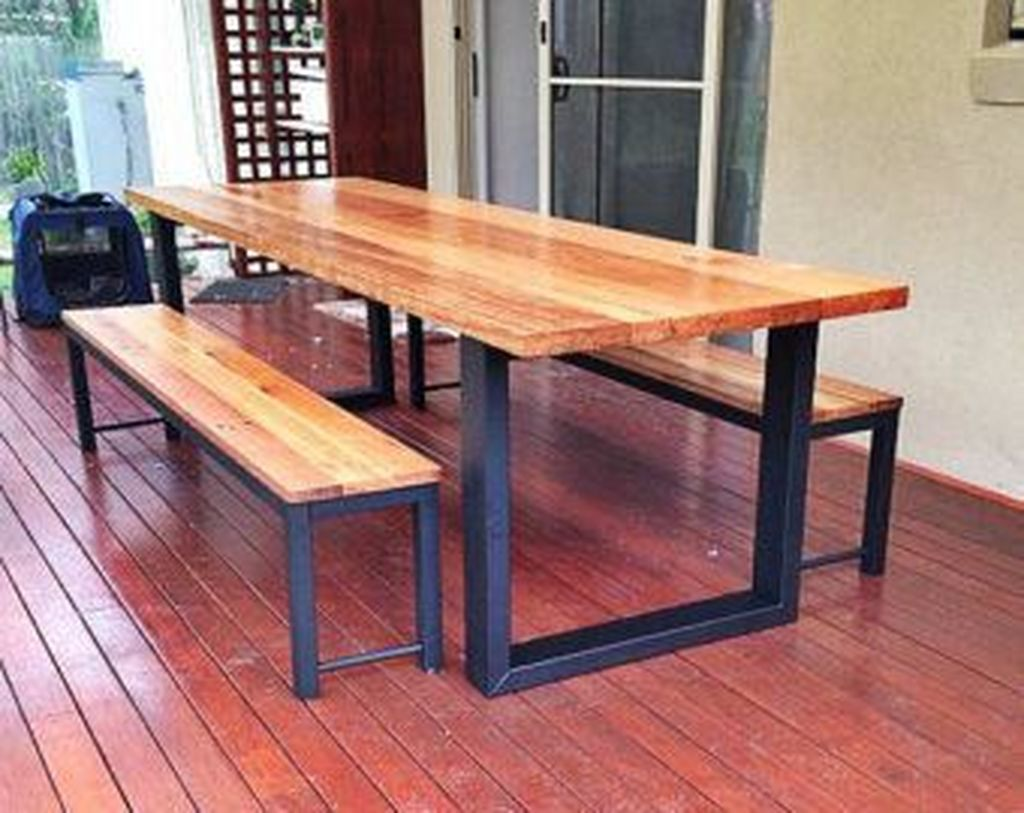 Inspiring Outdoor Dining Table Design Ideas 11
