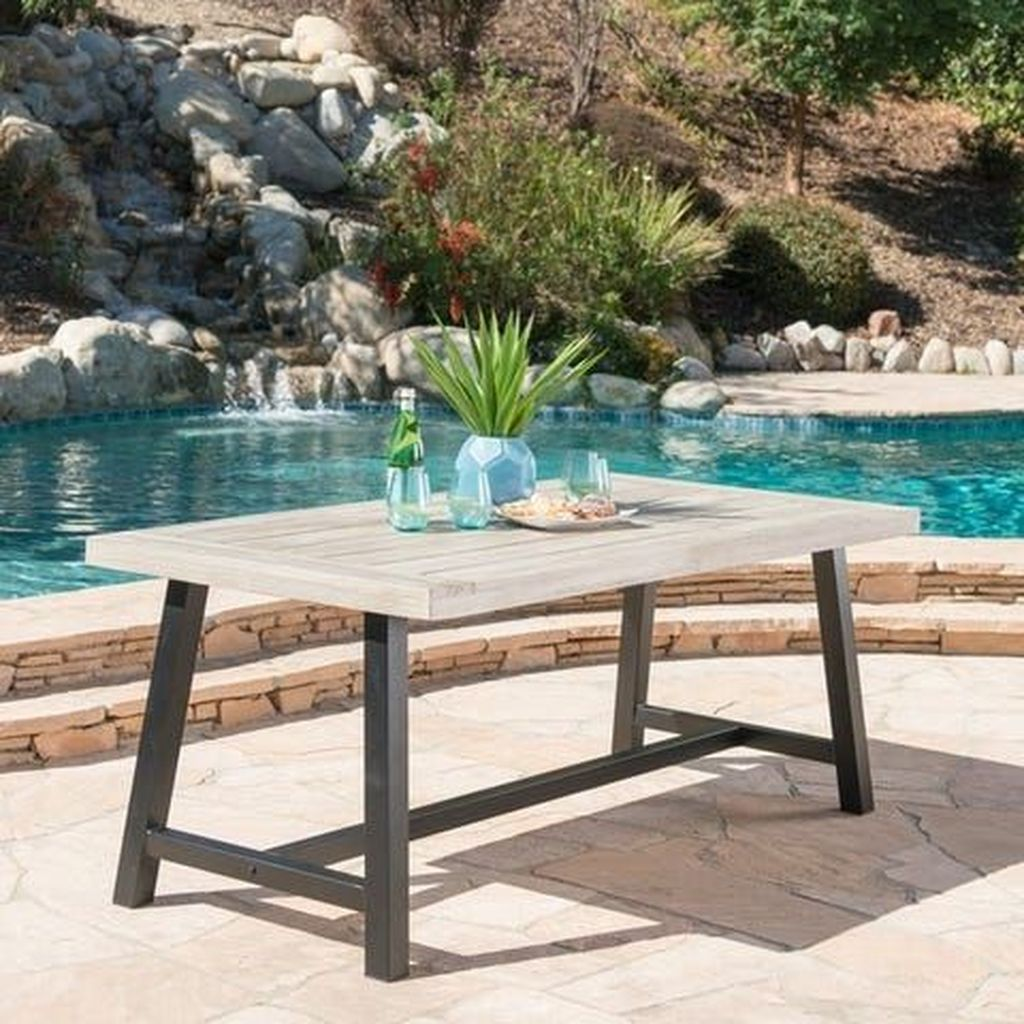 Inspiring Outdoor Dining Table Design Ideas 20