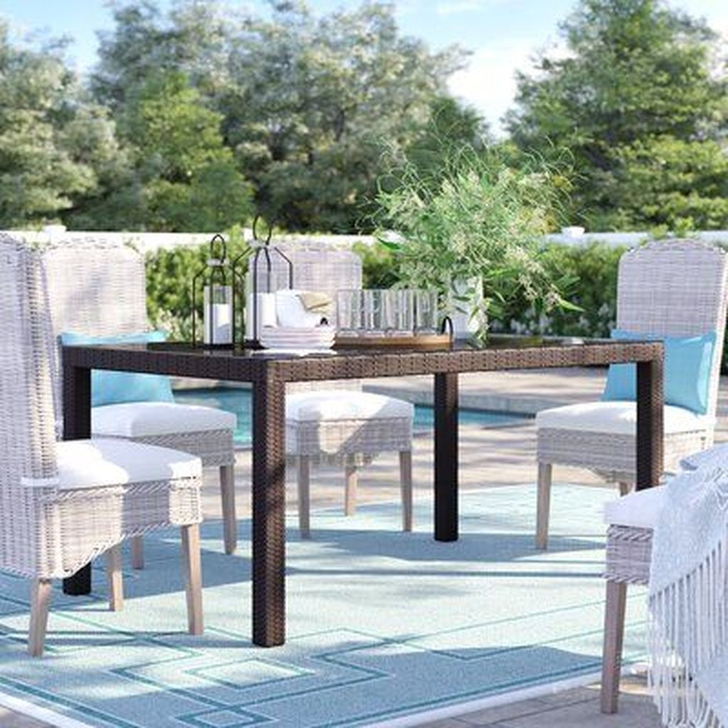 Inspiring Outdoor Dining Table Design Ideas 23