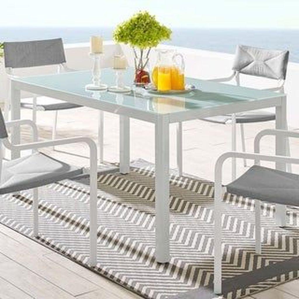 Inspiring Outdoor Dining Table Design Ideas 28