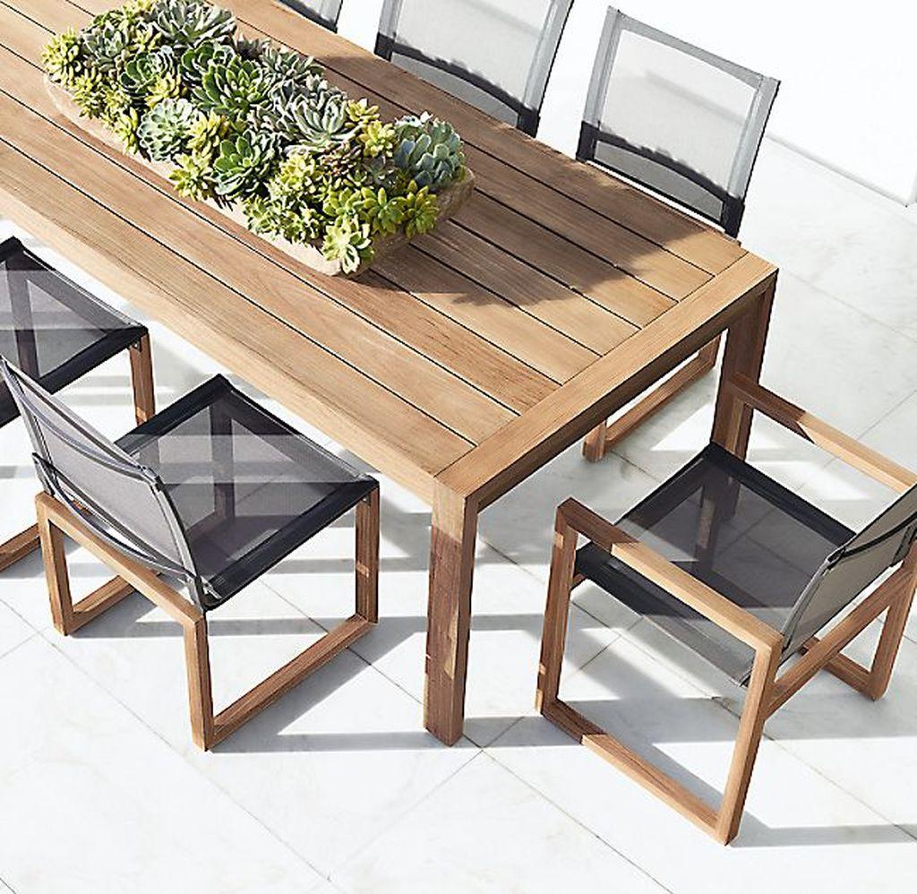 Inspiring Outdoor Dining Table Design Ideas 33