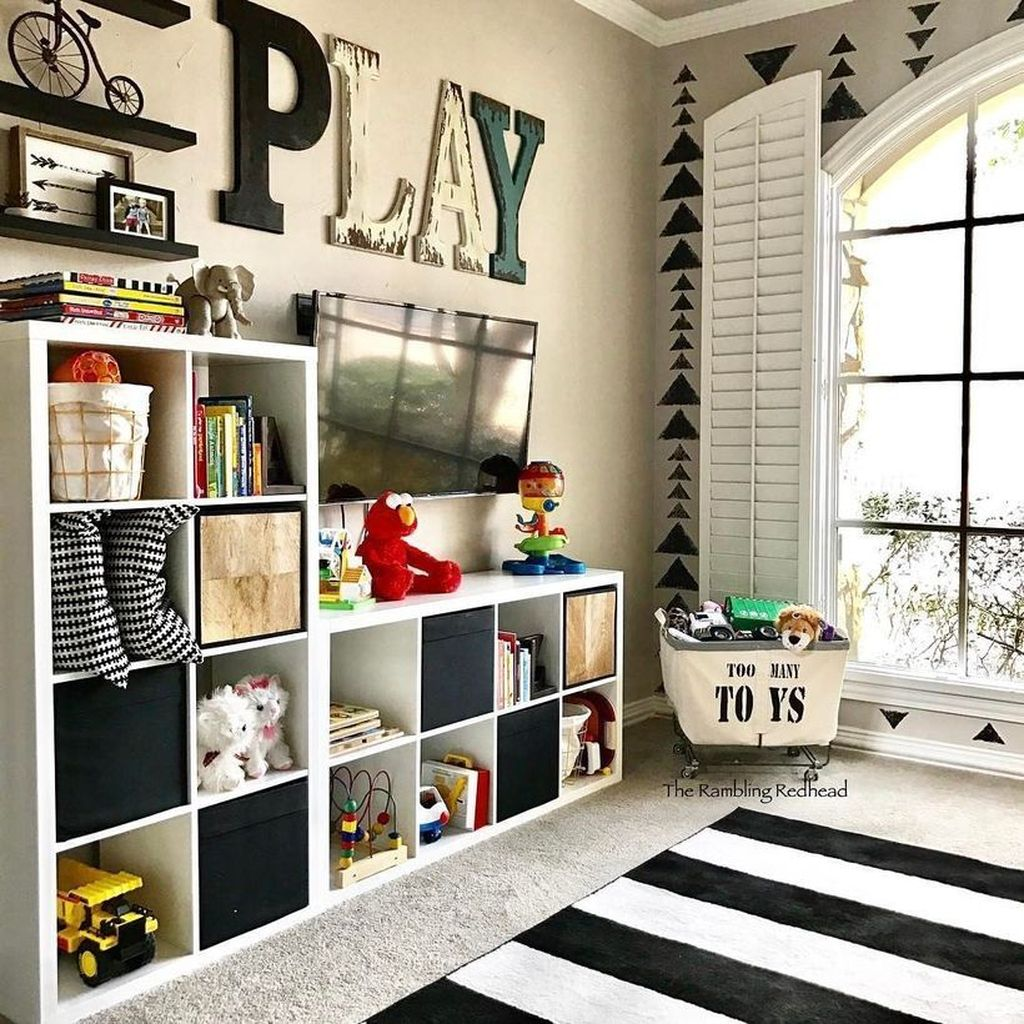 Nice Playroom Design Ideas For Your Kids 01
