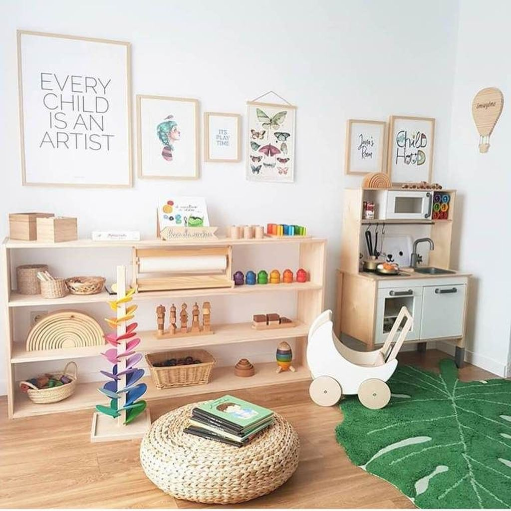 Nice Playroom Design Ideas For Your Kids 14