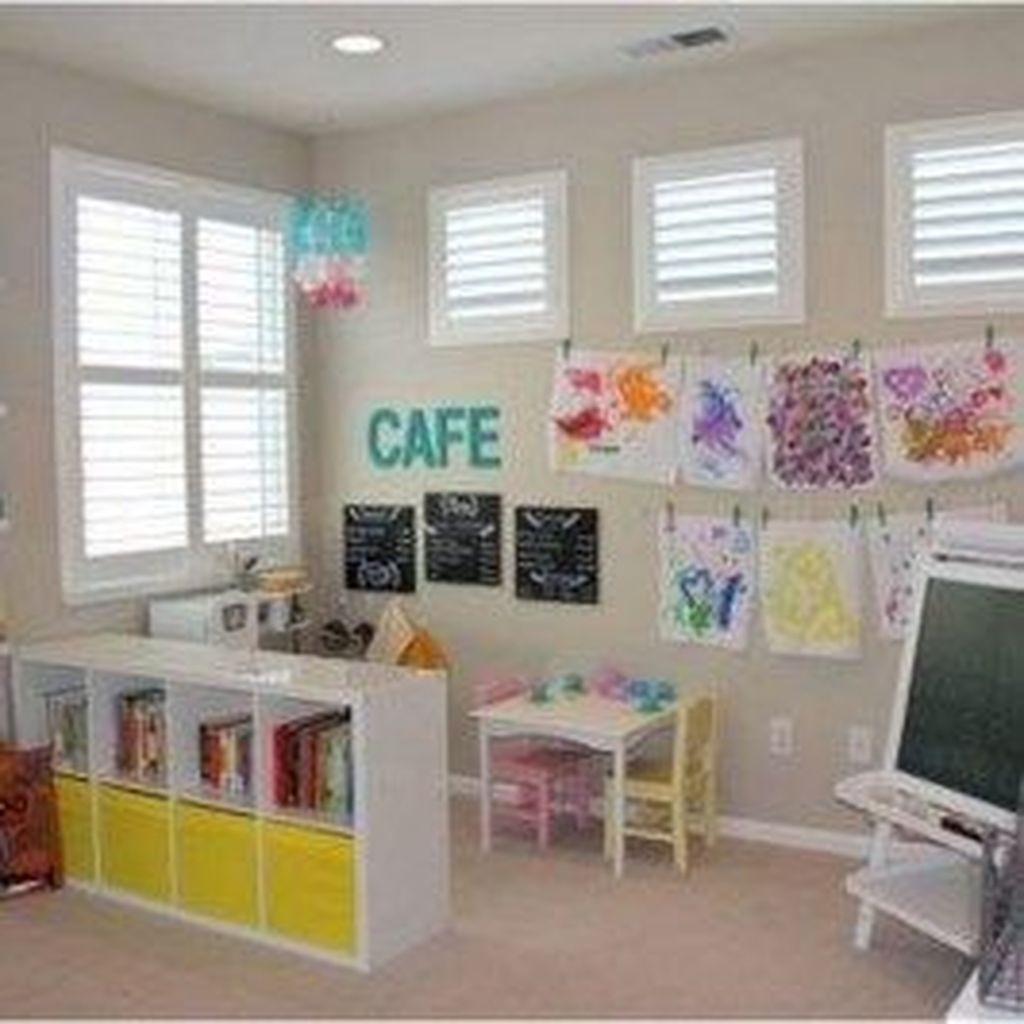 Nice Playroom Design Ideas For Your Kids 19