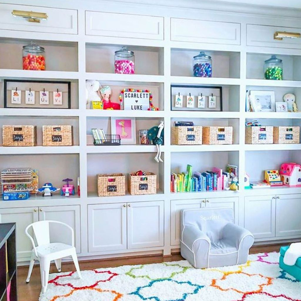 Nice Playroom Design Ideas For Your Kids 24