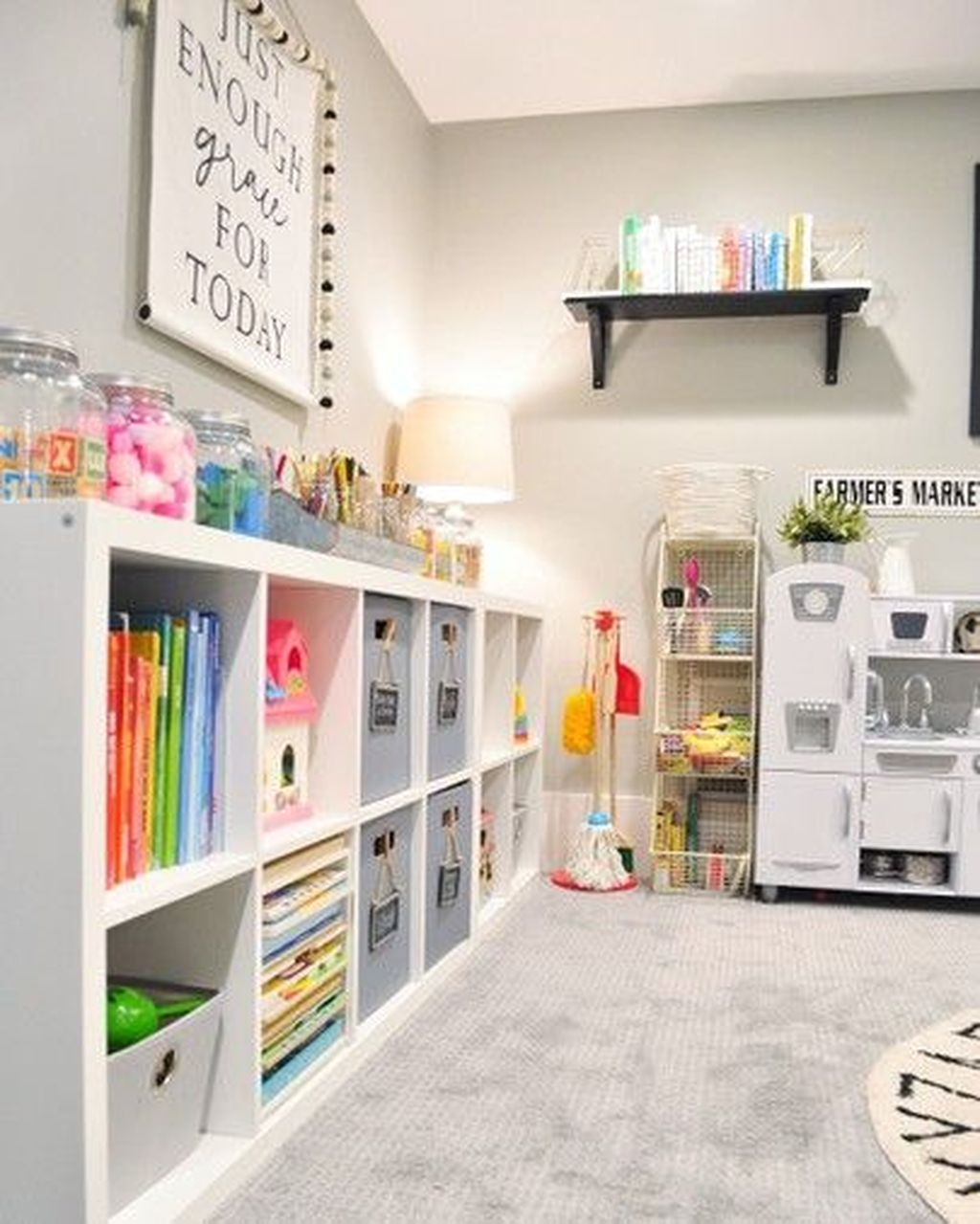 Nice Playroom Design Ideas For Your Kids 26