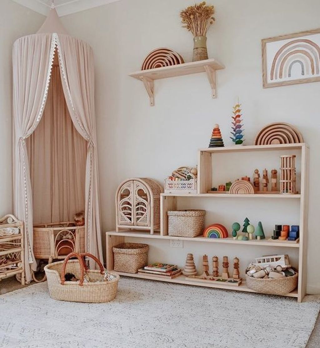 Nice Playroom Design Ideas For Your Kids 29