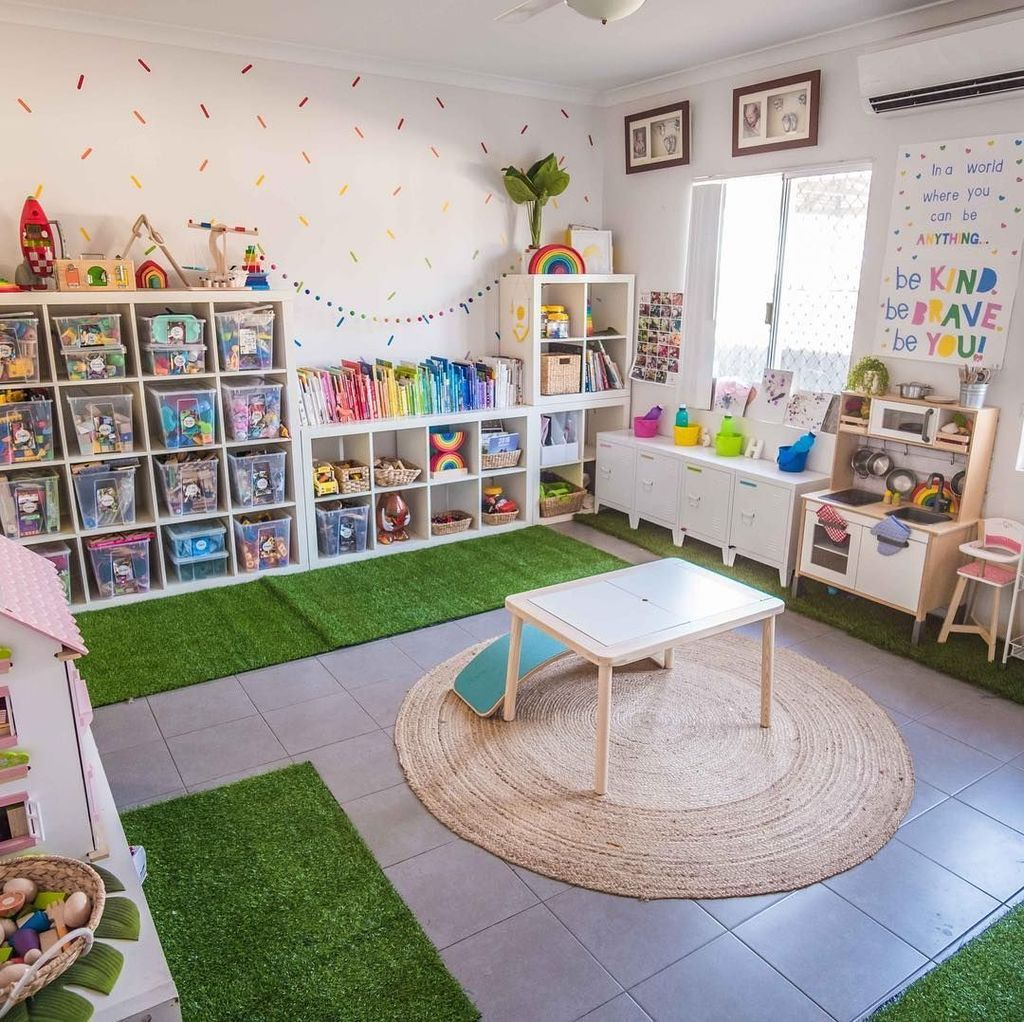 Nice Playroom Design Ideas For Your Kids 32