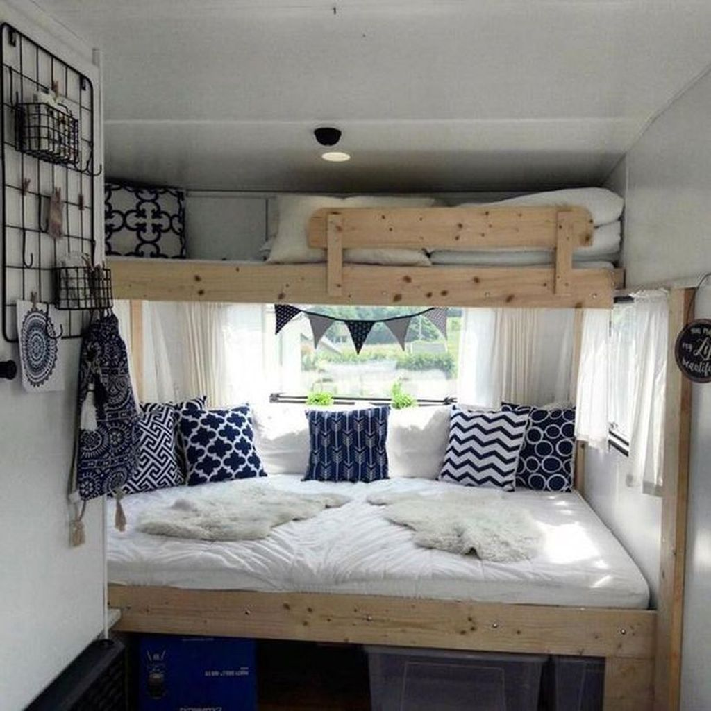 Nice RV Bedroom Ideas That Will Inspire You 24