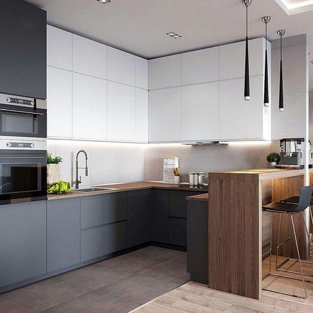 Popular Minimalist Kitchen Design Ideas You Never Seen Before 05